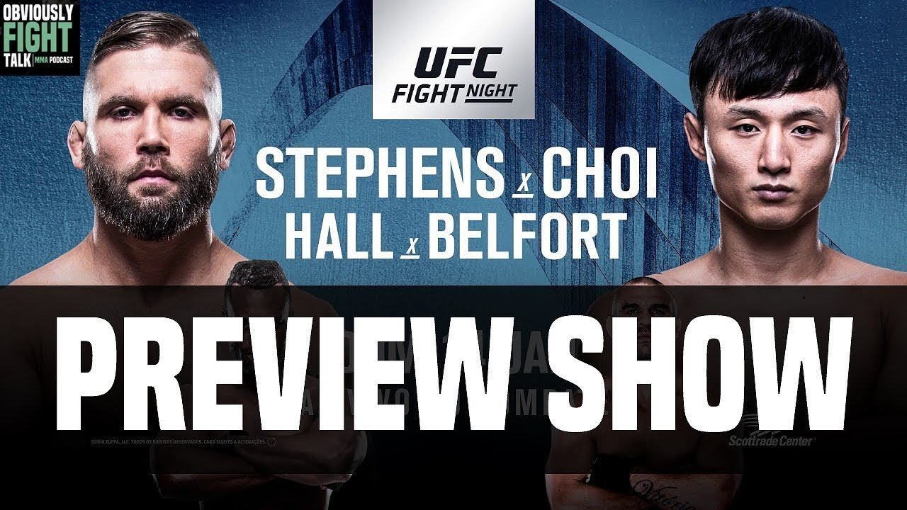 UFC Fight Night 124 preview.