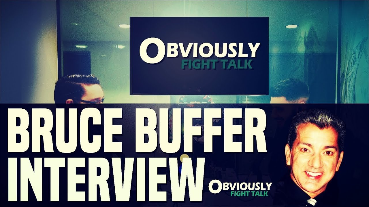 Bruce Buffer on Obviously Fight Talk.