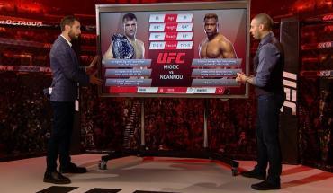 Inside the octagon UFC 220.
