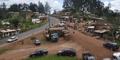 Batie village in Cameroon home of Francis NGannou.