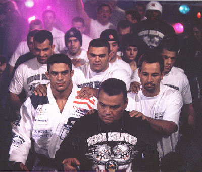 Young Vitor Belfort walkout.