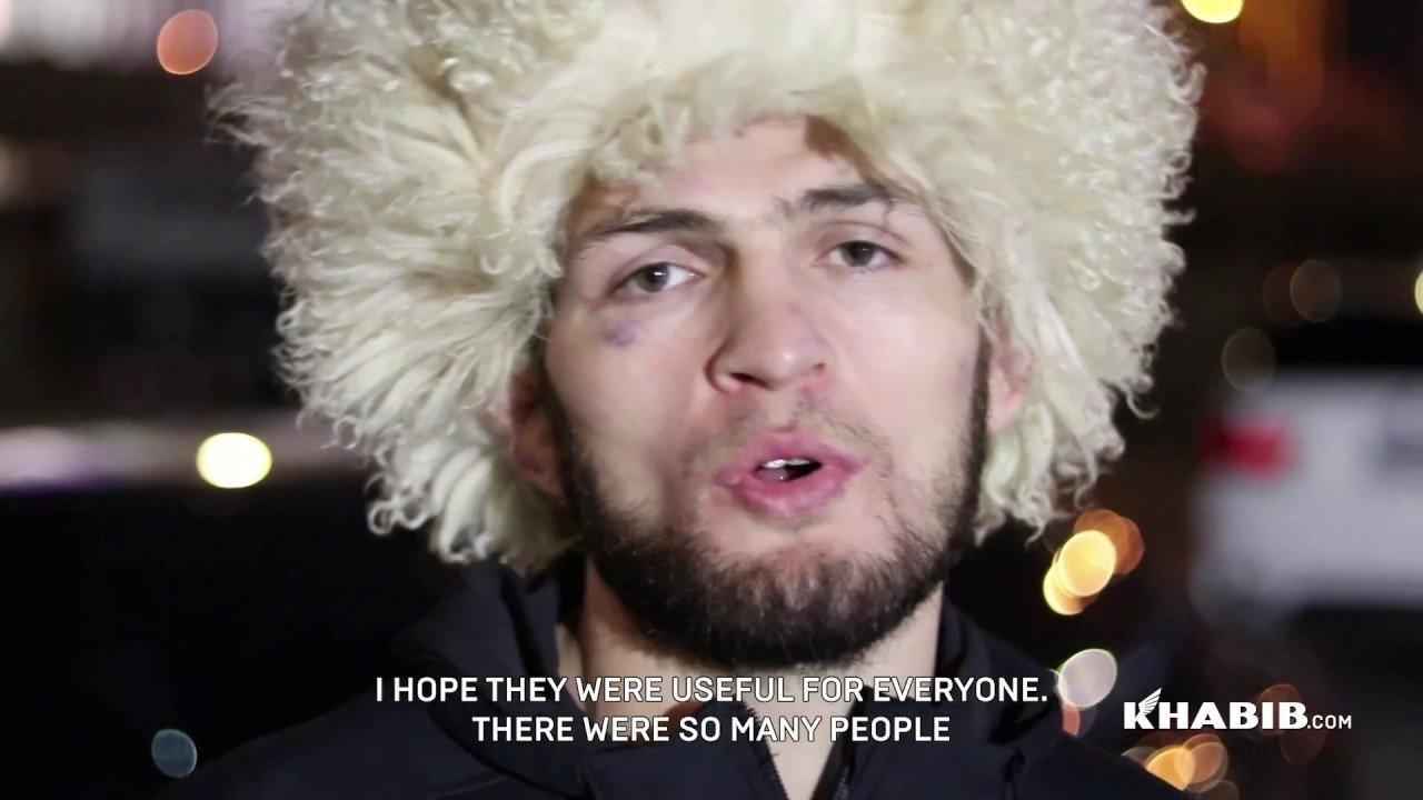 Khabib Nurmagomedov UFC 219 training camp.