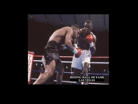 Mike Tyson knocked out by James Buster Douglas.
