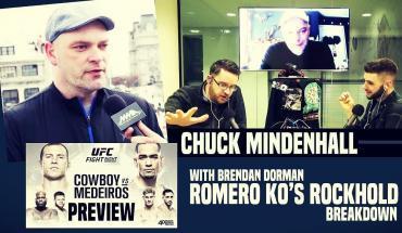 Chuck Mindenhall joins the show.