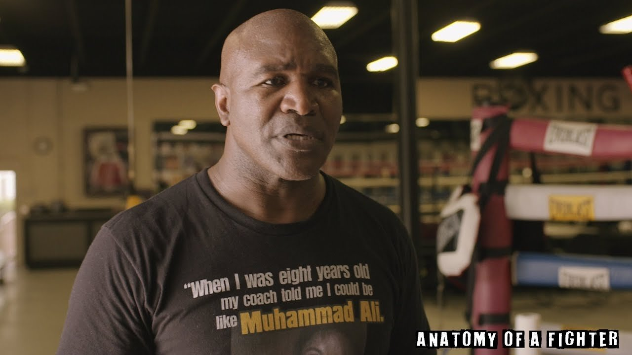 Evander Holyfield talks Mike Tyson.