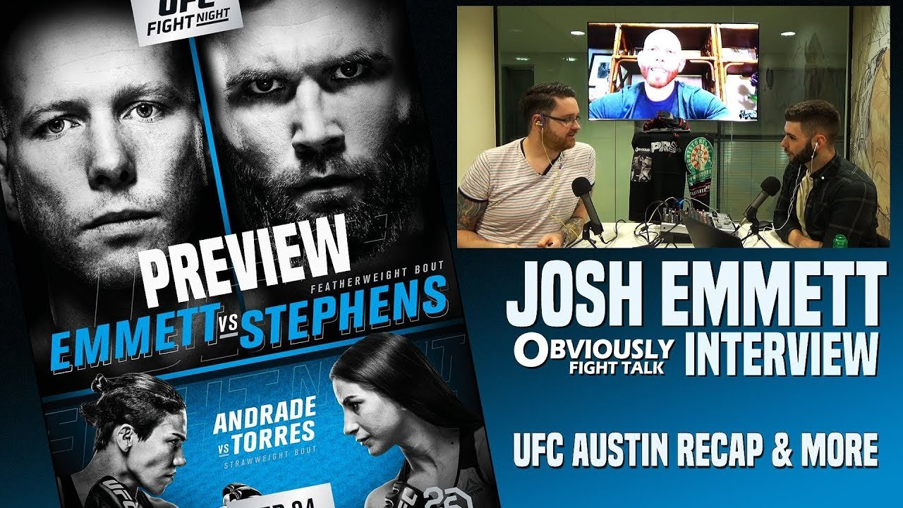Josh Emmett UFC on Fox 28 interview.