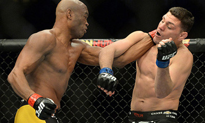 Anderson silva against Nick diaz ufc 183.