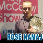 Rose namajunas podcast interview.