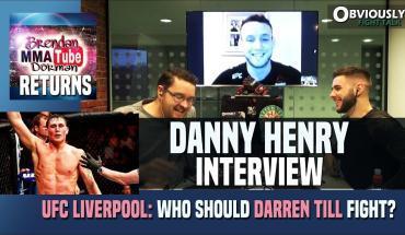 Darren Till UFC Liverpool.