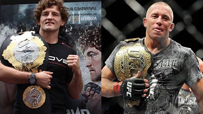 Ben Askren vs. GSP in the UFC.