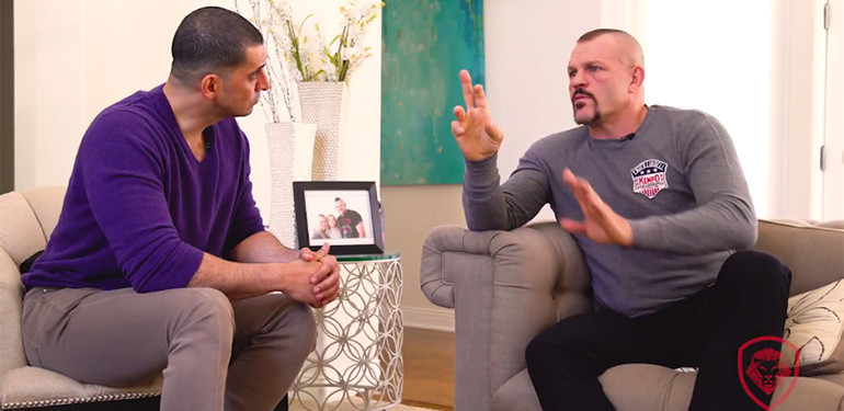 Chuck Liddell interview about his life in the sport of MMA.