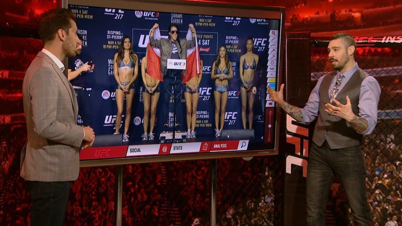 Inside the octagon UFC 223 Dan Hardy.