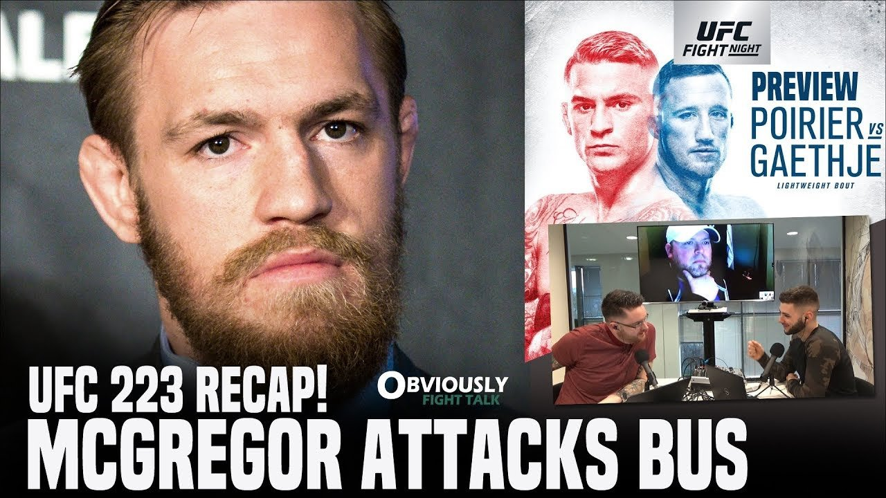 Conor McGregor bus incident.