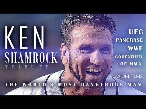 Ken Shamrock's life story.