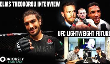 Elias Theodorou talks UFC Liverpool.
