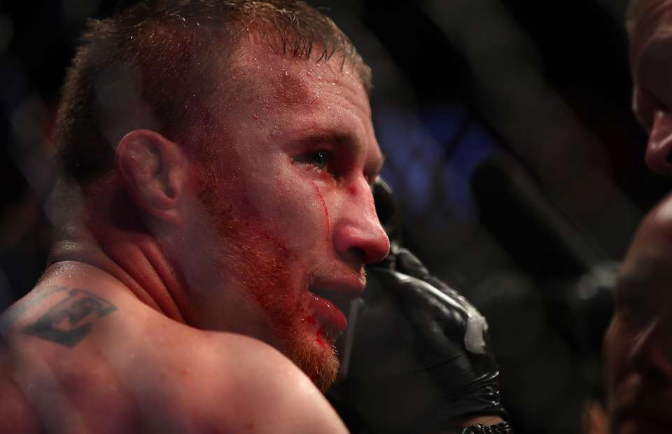 Justin Gaethje suffers loss in UFC.