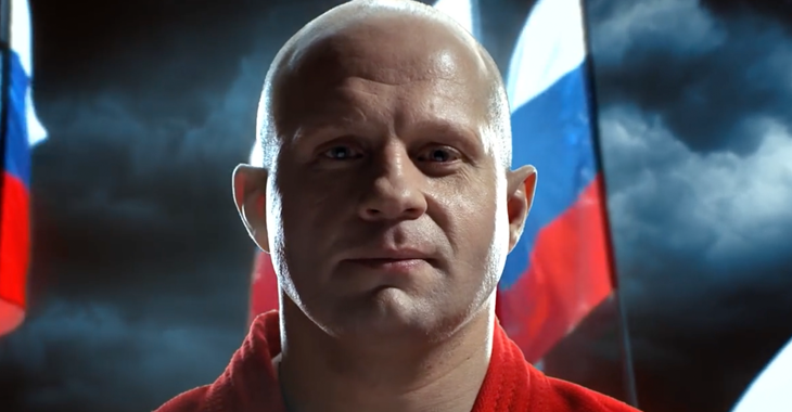 Fedor Emelianenko MMA legend.