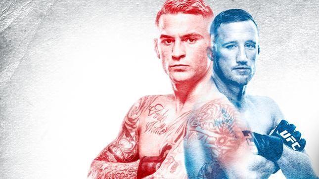 Justin Gaethje against Dustin Poirier UFC Glendale.