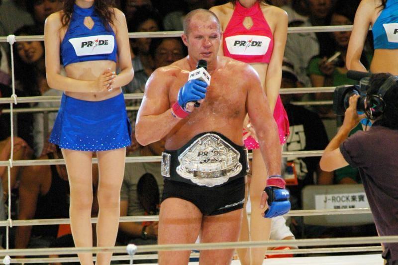 Fedor Emelianenko Pride Fighting Championships.