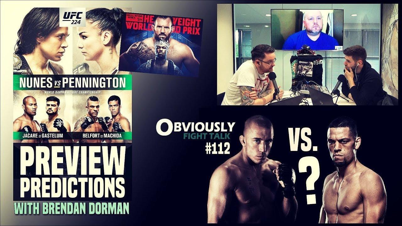 UFC 224 with Brendan Dorman.