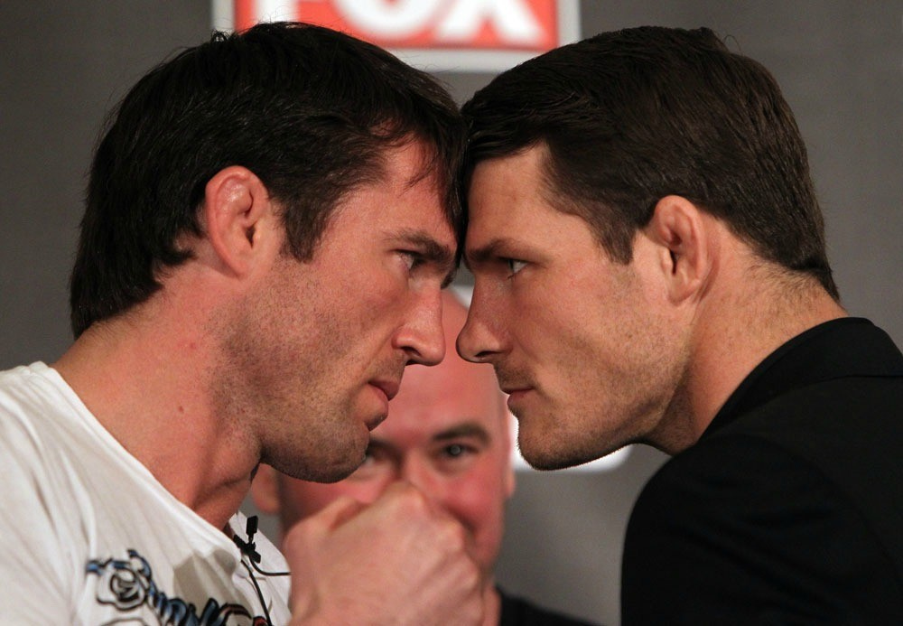 Bisping And Chael Sonnen.