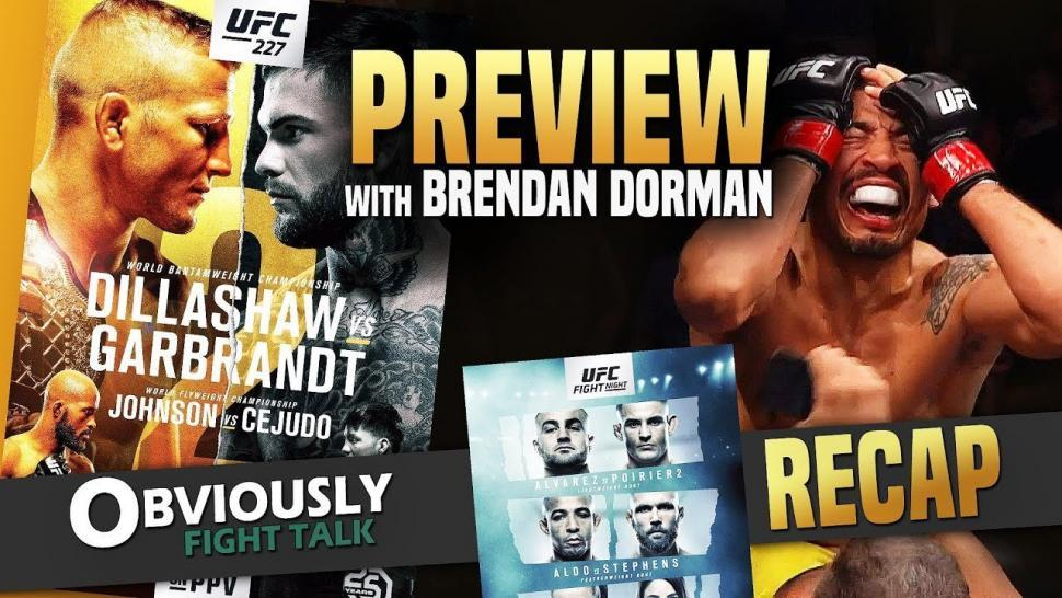 UFC 227 Preview breakdown.
