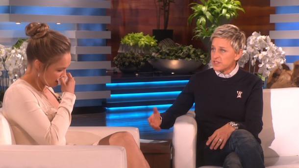 Ronda joins Ellen.
