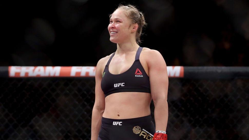 Ronda Rousey UFC Champion.