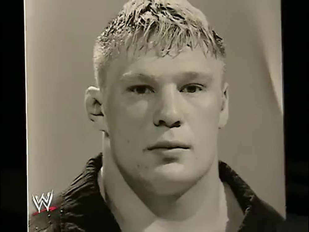 Brock Lesnar WWE documentary.