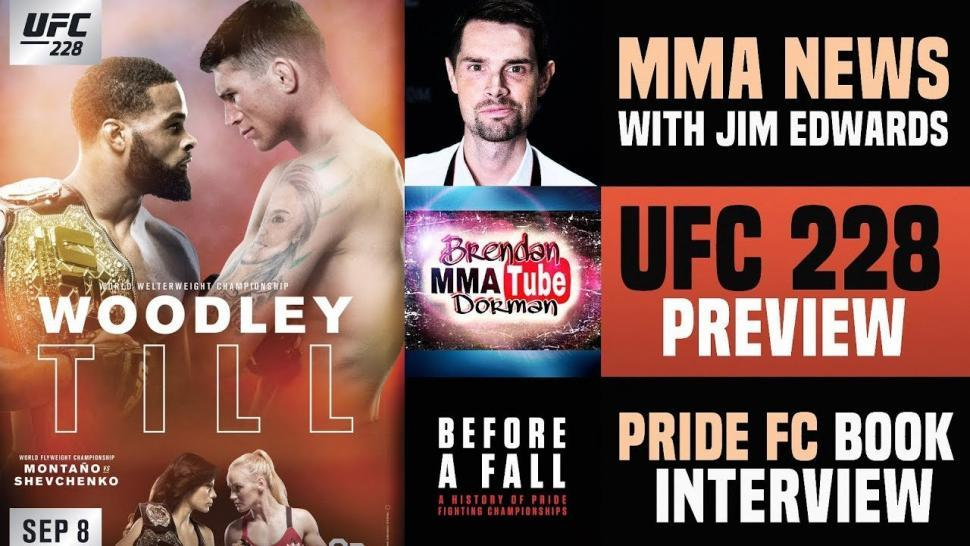 UFC 228 preview show with Brendan Dorman.