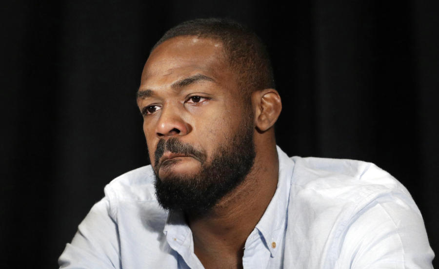 Jon Jones following his USADA suspension.