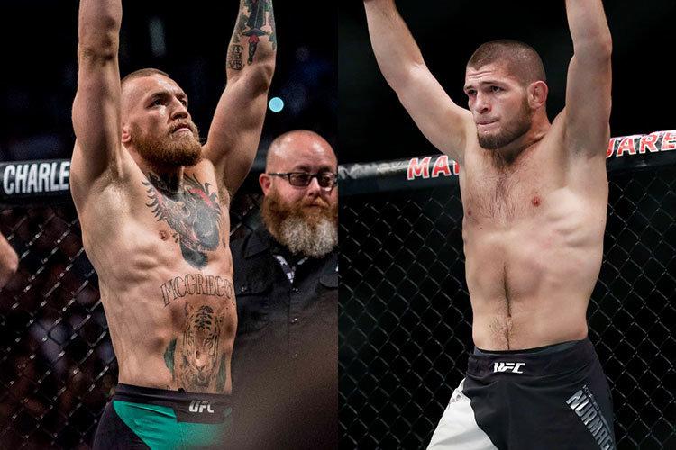 Conor McGregor against Khabib Nurmagomedov UFC 229.