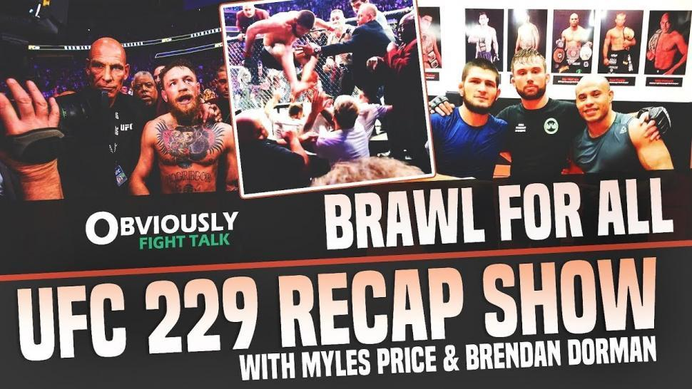UFC 229 post fight breakdown.