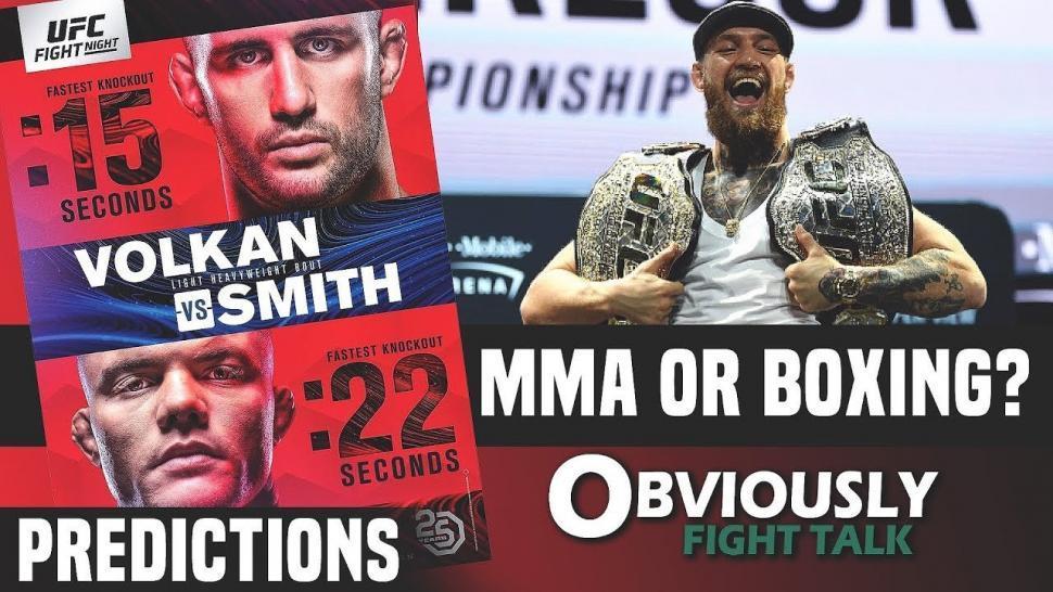 Conor McGregor's next opponent.