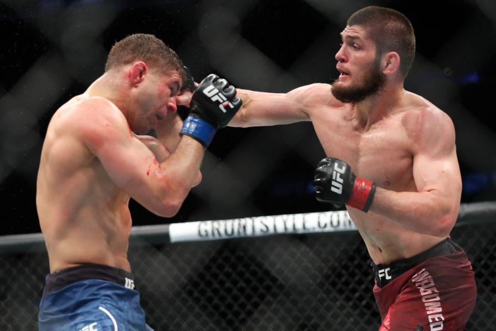 Al Iaquinta vs Khabib Nurmagomedov UFC.
