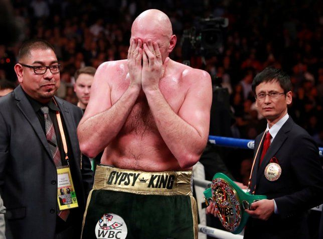 Tyson Fury doesnt win WBC belt.