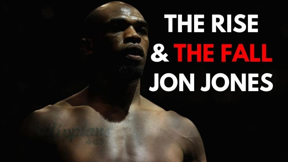Jon jones rise and fall moments.