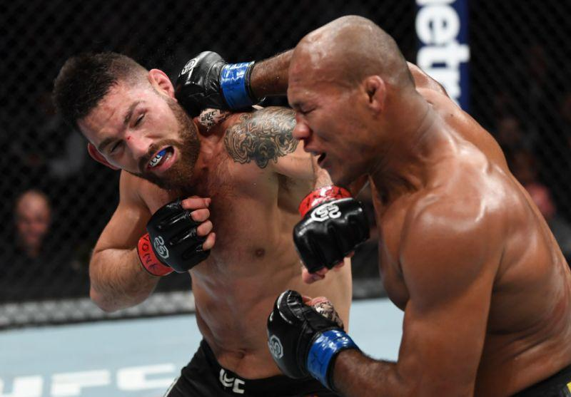 CHRIS WEIDMAN faces JACARE SOUZA UFC