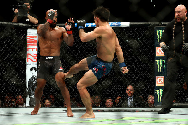 DEMETRIOUS JOHNSON loses to HENRY CEJUDO.