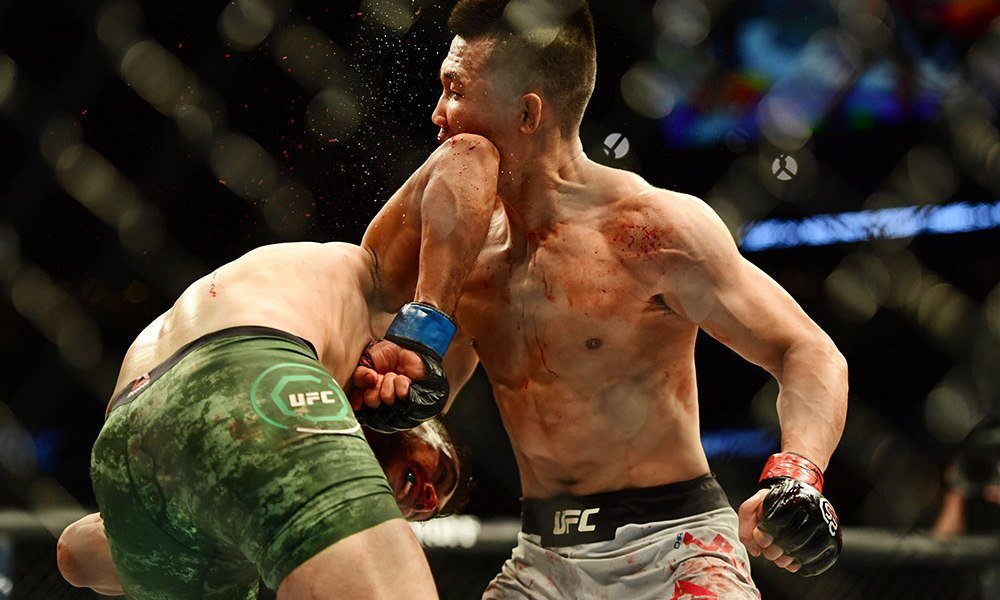 KOREAN ZOMBIE against YAIR RODRIGUEZ