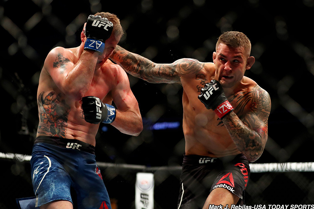 dustin poirier vs justin gaethje ufc on fox 29