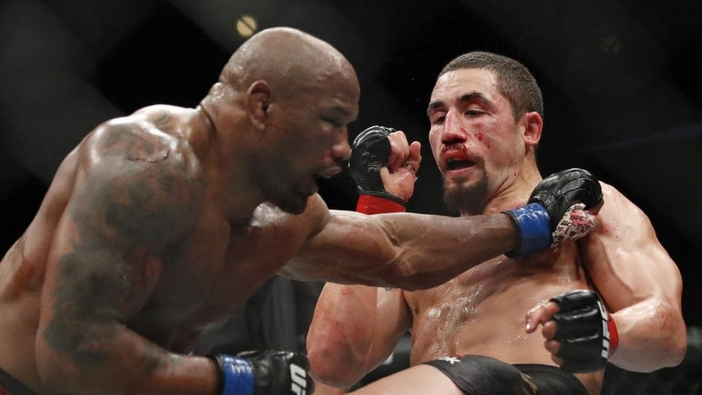 ROBERT WHITTAKER against YOEL ROMERO 2.