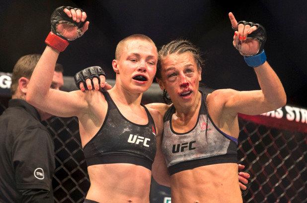 UFC 223 ROSE NAMAJUNAS VS JOANNA JEDRZEJCZYK 2.