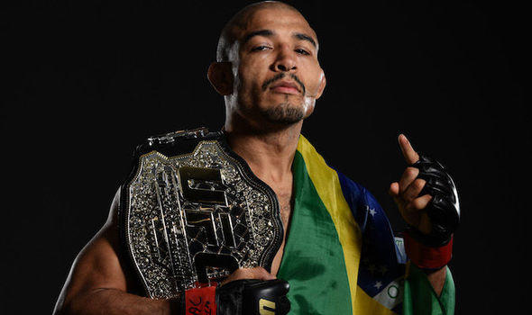 Jose Aldo one of the pound for pound greatest MMA fighters.