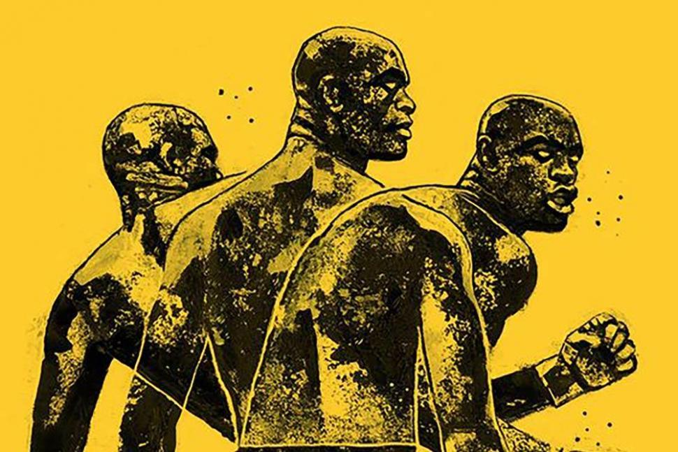 Anderson Silva UFC 234 fight poster!