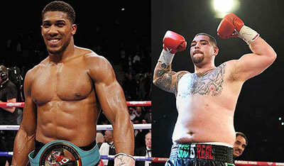Anthony Joshua will face Andy Ruiz in New York.