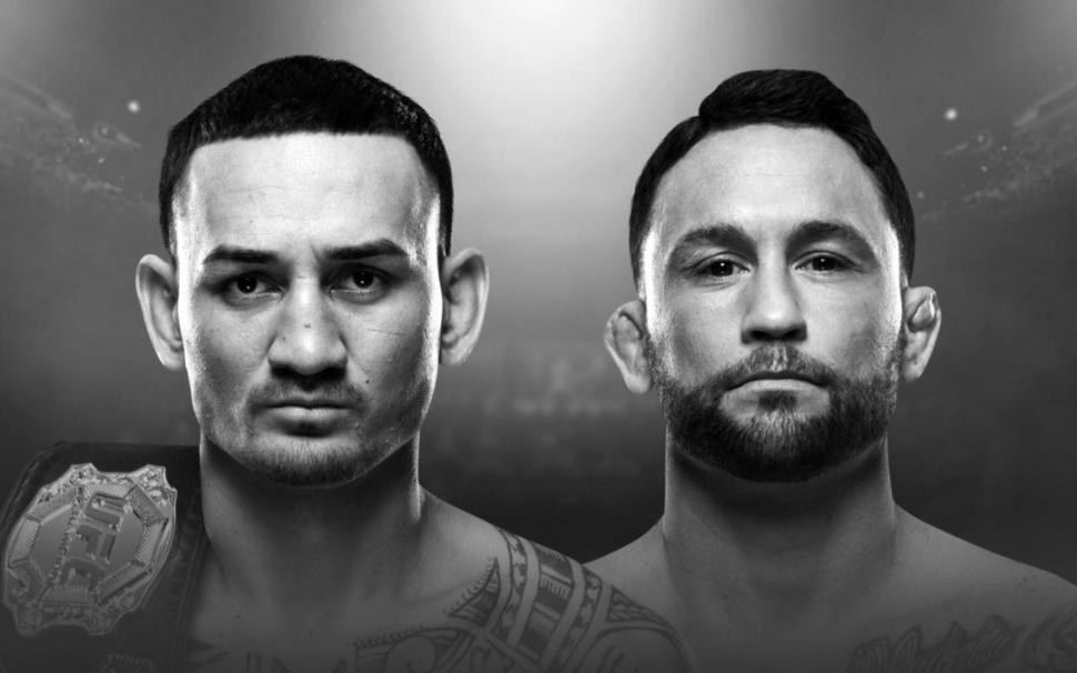 UFC Featherweight champion max holloway vs challenger frankie edgar poster.