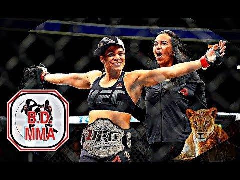 Amanda Nunes UFC double champion.