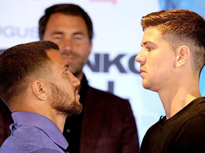 Luke Campbell vs Vasyl Lomachenko press conference