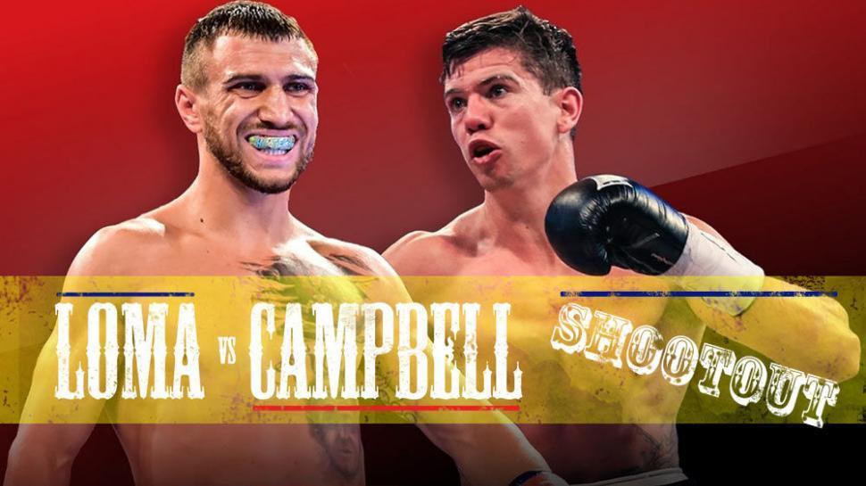 Vasyl Lomachenko next fight Luke Campbell for world titles.